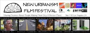 New Urbanism Film Festival Film Strip Banner
