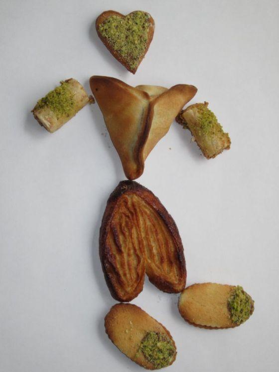 walking pastry