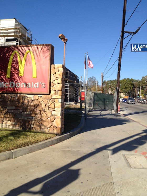 McDonald's: bad for your health, bad for your streets' health.