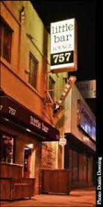 little bar sign